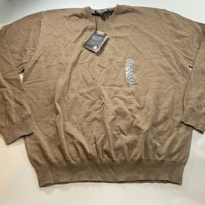 Kirkland Signature | Tan Wool Sweater New With Tag